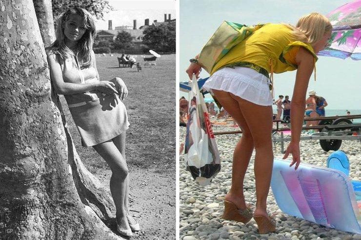 девочка голе пад юпка без трусик фото