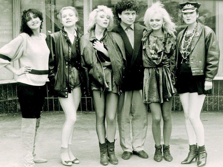 Мини юбки в 80-х