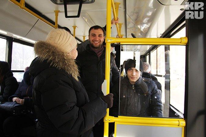Приставания к женщинам в автобусе
