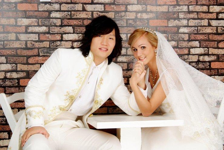 на знакомства русской женится кореец