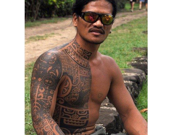 Гавайские тату фото