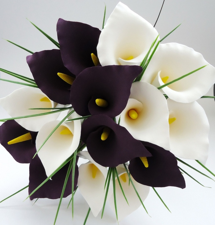 С днем рождения фото цветы каллы