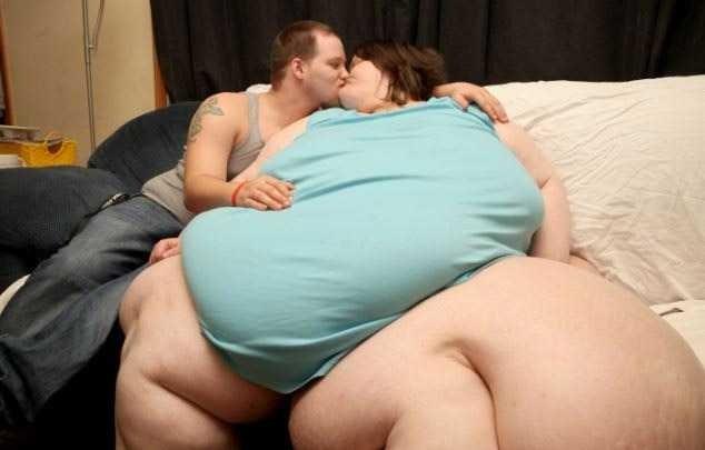 толстая с любовником