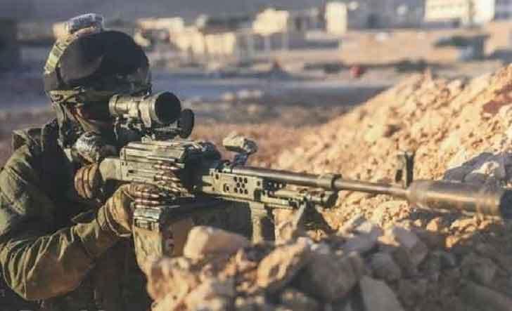 Spetsnaz sniper Syria