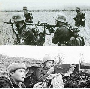 Попавшие в плен военнослужащие 101 бригады вв