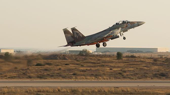 ВВС Израиля нанесли удар по Сирии с территории Ливана – СМИ