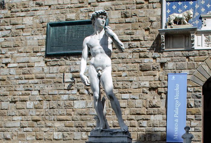 Статуя Давид (Микеланджело) Флоренция