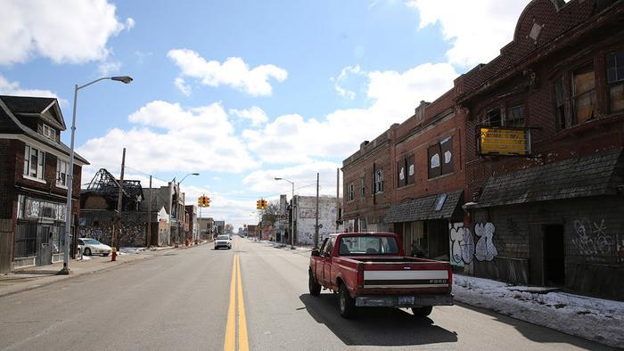 Детройт — город-банкрот