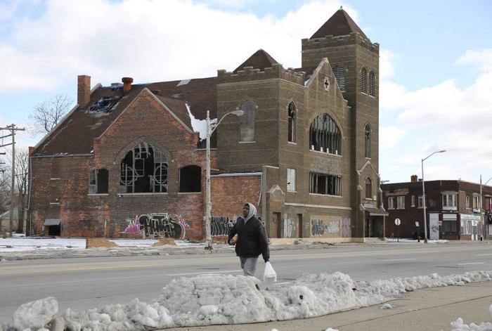 Еще несколько фотографий Детройта — города-банкрота