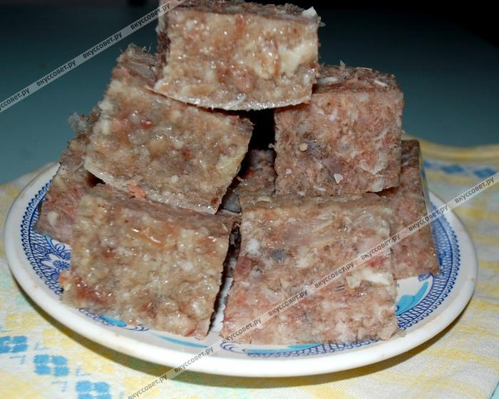 холодец говяжий рецепт с фото пошагово