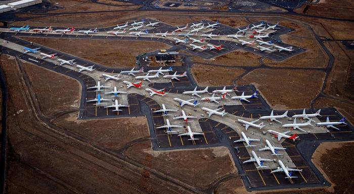 Боинги 737 MAX вплоть до ноября оставались на земле