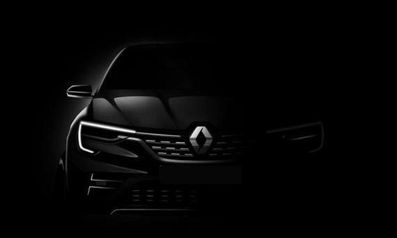 Тизер кроссовера купе Рено (Renault)