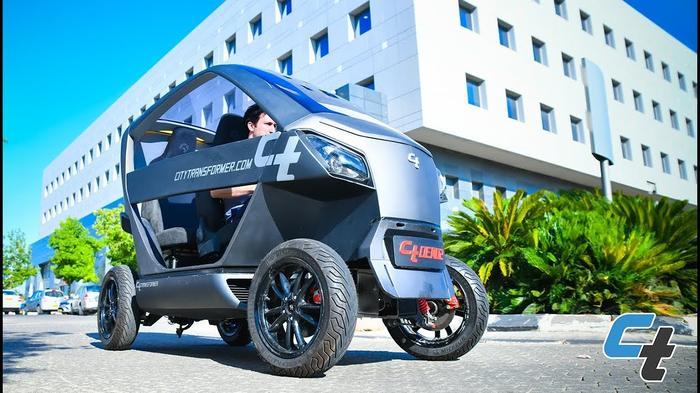 City Transformer - Demo 2.0, vehicle technology demonstration - YouTube