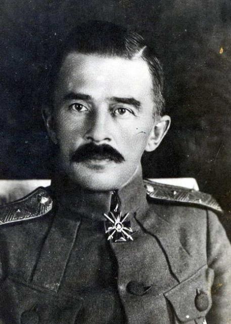 Михаил Константинович Дитерихс, руководитель Приамурского земского края в 1922 году