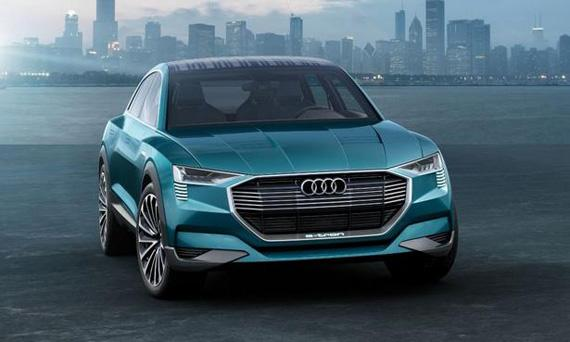 Концепт электрического внедорожника/кроссовера Audi e-tron Quattro / Ауди е-трон Кваттро