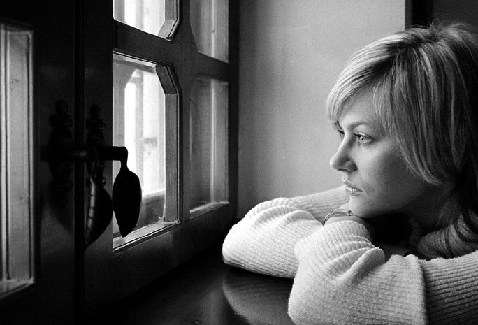 Открытка одинокая женщина, днем рождения