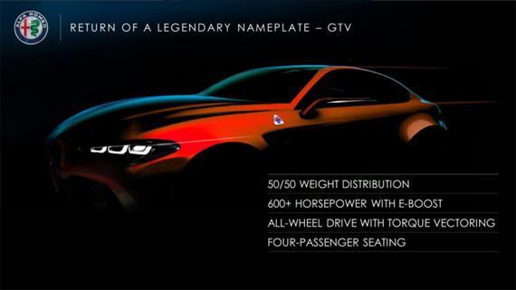 Седан Alfa Romeo GTV / Альфа Ромео GTV