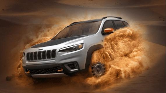 Внедорожник Jeep Desert Hawk / Джип Десерт Хок