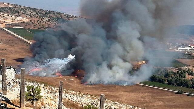Удары ЦАХАЛа по целям в Ливане. Фото: АР