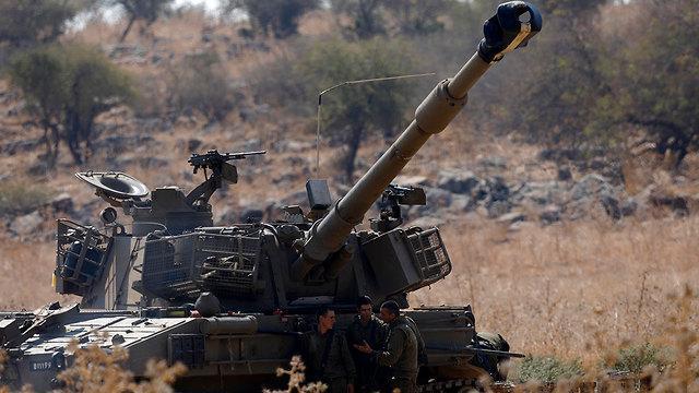 Артиллерия ЦАХАЛа. Фото: ЕРА