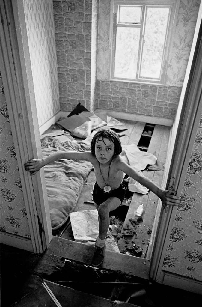 Play in a derelict house Balsall Heath 196