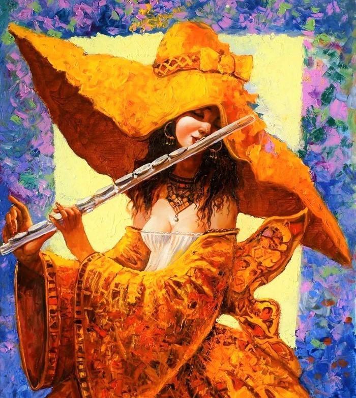 Картинки с флейтой и цветами, картинки приколами