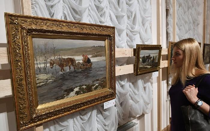 Выставка к 100-летию революционных событий 1917 года.