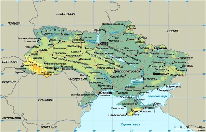 Крым в 2000 году