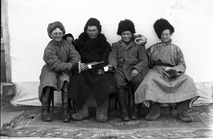 Русские в Монголии - начало XX века