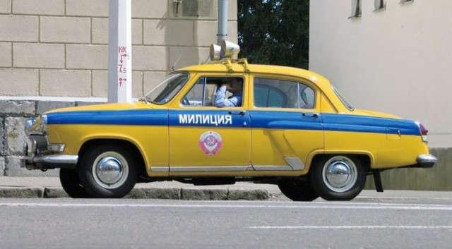 Милицейские автомобили в СССР   Media news