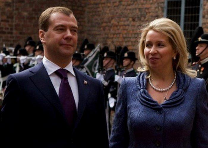 Светлана Медведева.