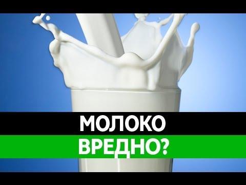 Невероятный вред молока