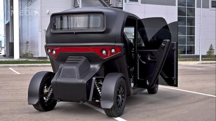 «Калашников» сделал «Овум» похожим на настоящий автомобиль.