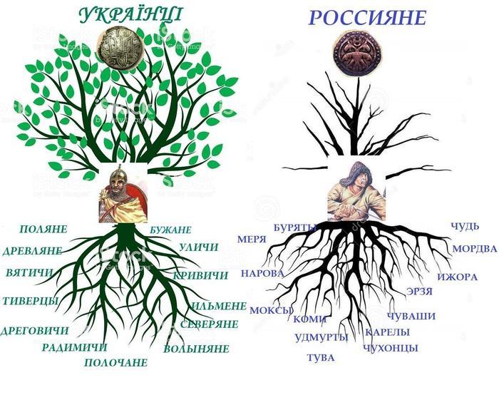 Московиты Украинцы