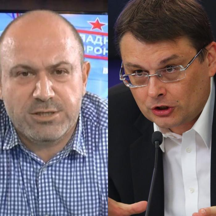 А.Колпакиди (слева) и Е. Фёдоров( справа) Фото находится в свободном доступе.