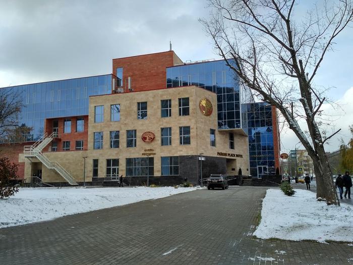 """Отель и бизнес-центр """"Райкин Plaza"""" Фото: © L!FE"""