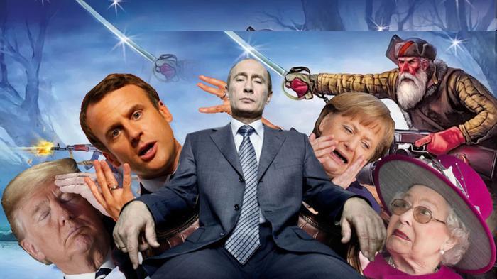 Что там остаётся Америке? А Россия подбирает Европу