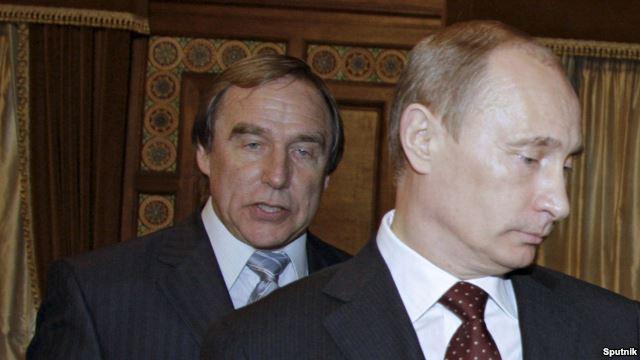 Сергей Ролдугин, главное действующее лицо расследования OCCRP, и его друг Владимир Путин