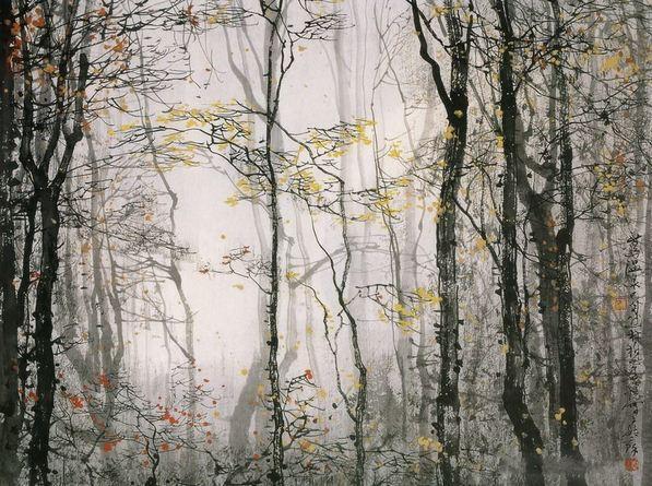Akvarel-peyzazhi.-Hudozhnik-Liu-Maoshan.-Akvarel-dvadtsat-pervaya
