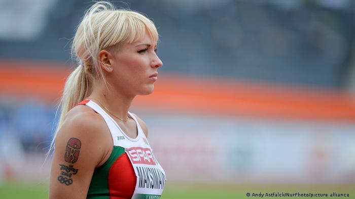 Белорусская спортсменка Яна Максимова в Амстердаме