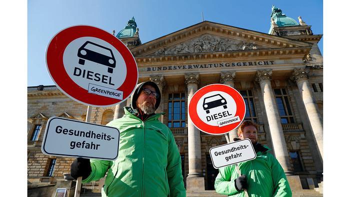 У запрета дизельных автомобилей есть мощная поддержка партии «зеленых»