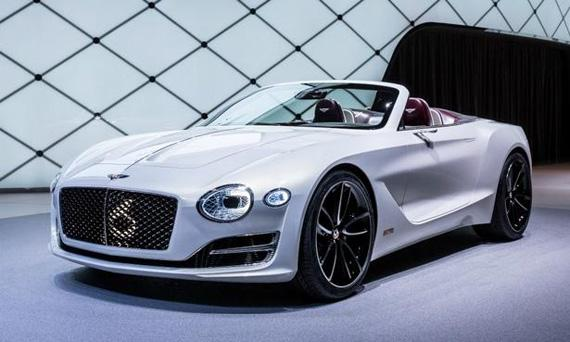 Концепт электрического спорткара Bentley EXP 12 Speed 6e / Бентли EXP 12 Спиид 6е