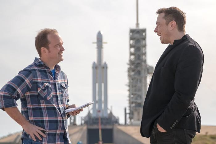 Just talking rockets with Elon.