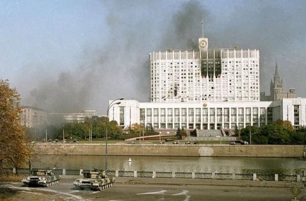 расстрел парламент 1993-1