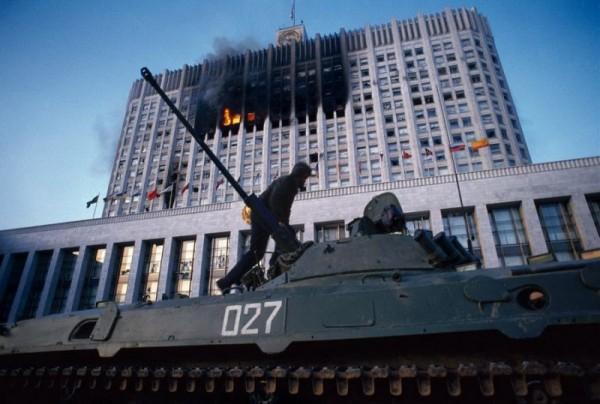 расстрел парламент 1993-2