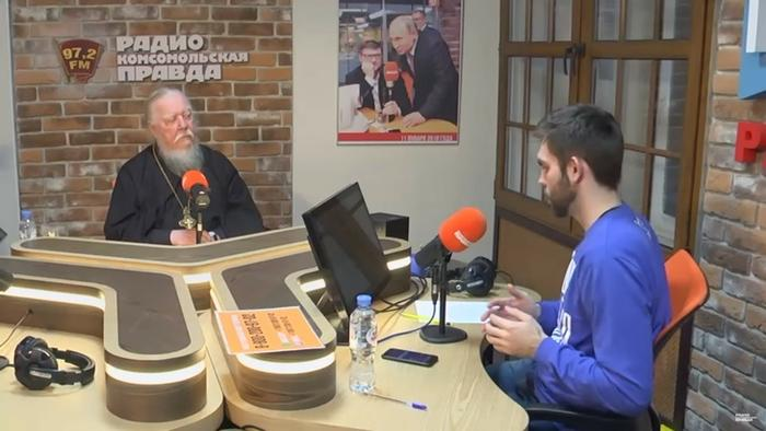 Программа в студии Радио КП