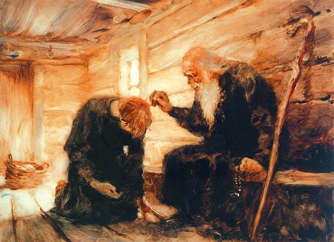 Старец и ученик