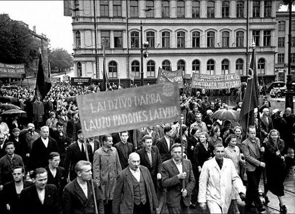 Как русские восстанавливали Прибалтику после Великой Отечественной