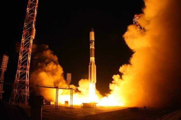Запуск ракеты-носителя