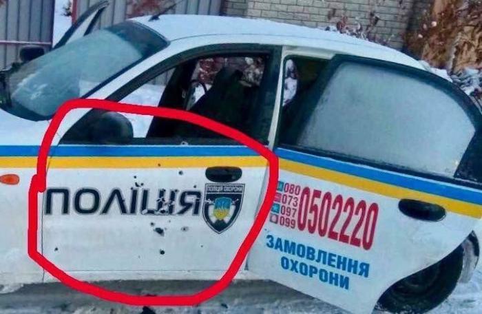 Про перестрелку полицейских на Украине: Как можно было перепутать?